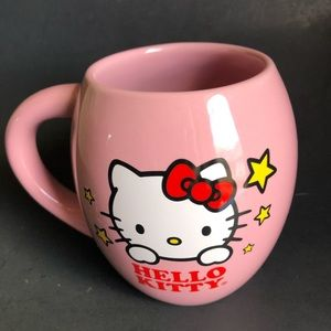 HELLO KITTY MUG PINK LARGE
